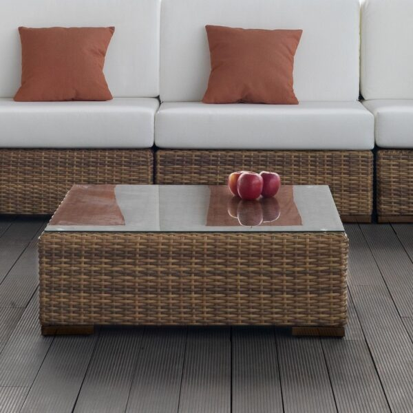 Mesa de jardín para terrazas o jardines auxiliar