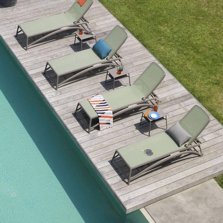 Tumbonas de piscina para disfrutar del Sol