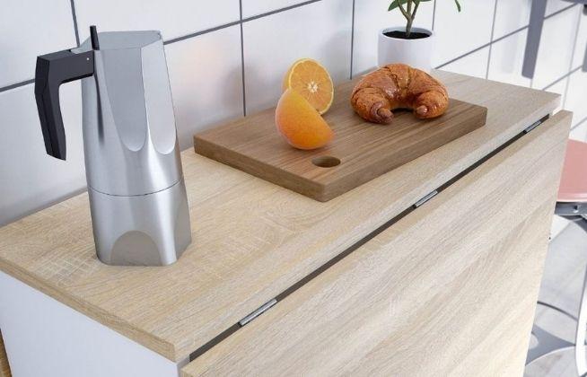 mesas de cocina pequeñas
